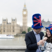 Nadia and Adam: Hilarious Engagement Shoot in Westminster