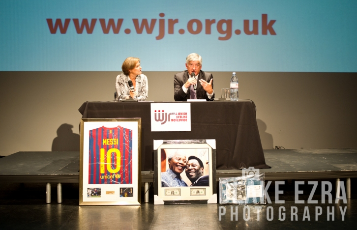 WJR screening of Ukraine vs. England