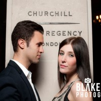 Amy and Josh: Engagement Shoot at the Churchill