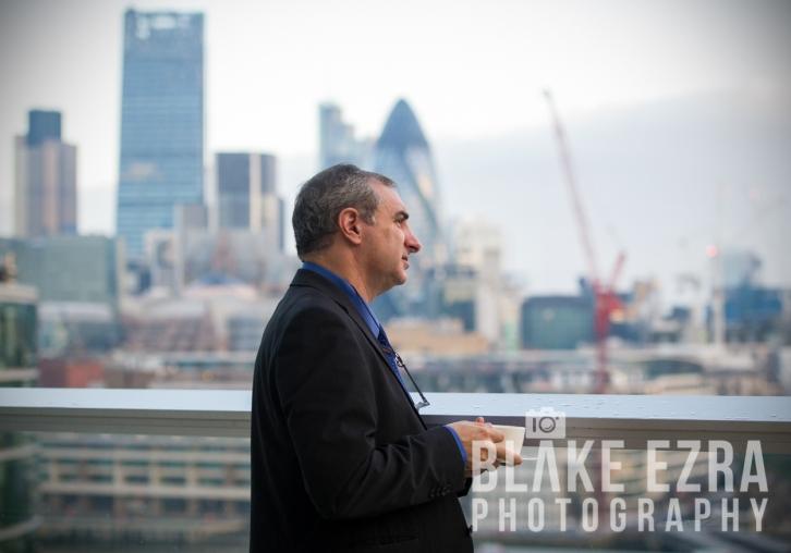 UK Israel Business Breakfast, Sir Winfried Bischoff