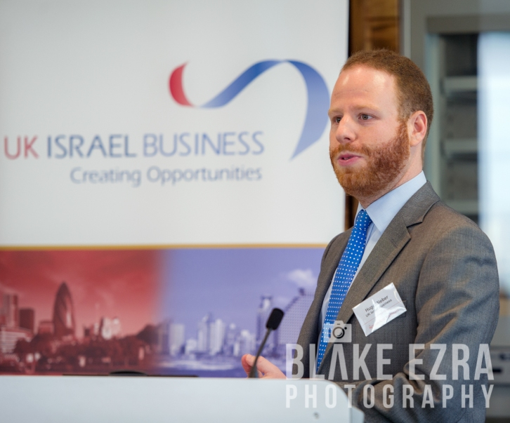 UK Israel Business Breakfast, Sir Winfried Bischoff