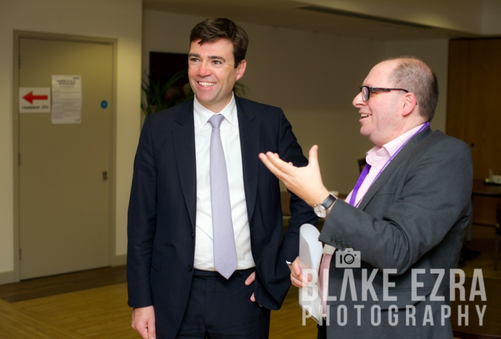 Andy Burnham MP, Shadow Secretary of State for Health, visiting the Jewish Care Campus in Golders Green.