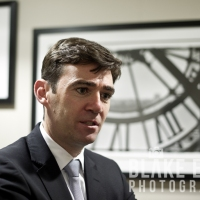 Care Visit: Andy Burnham MP At Jewish Care
