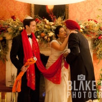 An Intimate Affair: Ruby and Oliver's Sikh Jewish Wedding