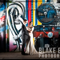 Abi and Dan: Wedding Portraits in north London