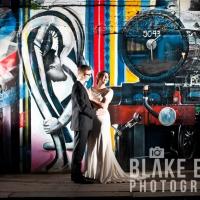Abi and Dan: Wedding Portraits in north London