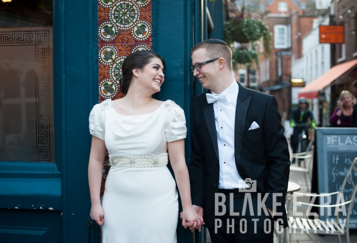 Abi and Dan Portrait Shoot in north London.