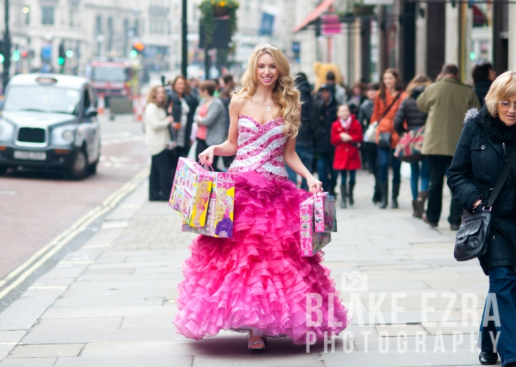 Barbie at Hamleys