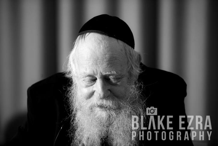 Rabbi Adin Steinsaltz speaking at JW3.