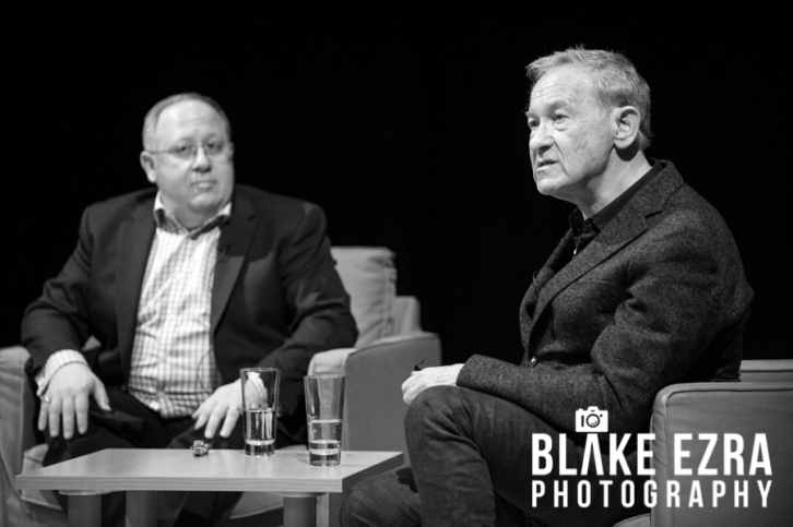 Stephen Pollard and Simon Schama