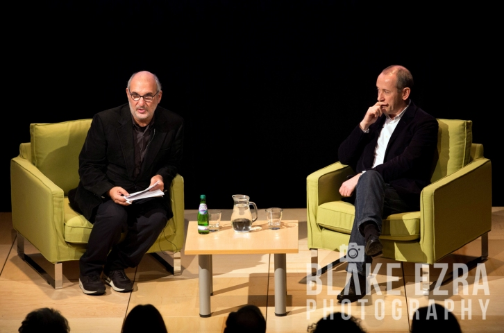 Alan Yentob and Director of The National Theatre, Nicholas Hytner