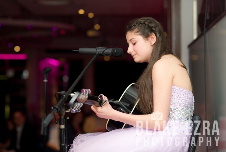 Freya's Bat Mitzvah at Kensington Roof Gardens.