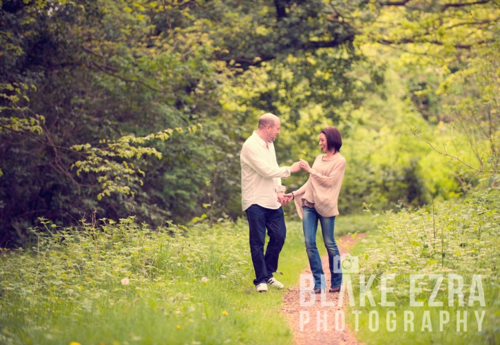 Engagement Shoot of Naomi and Adam
