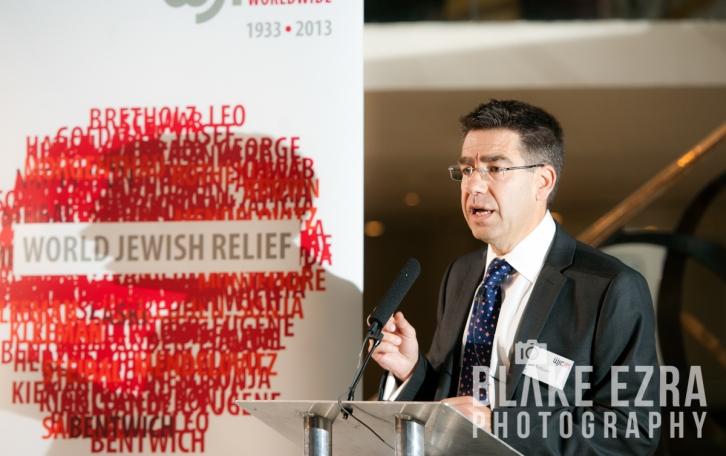 World Jewish Relief Business Breakfast at Quaglinos