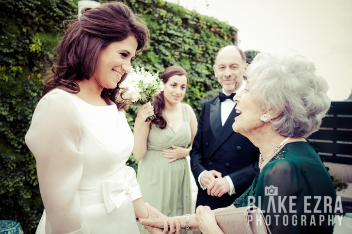 Images from the wedding of Danielle and Jon at The Rosewood.
