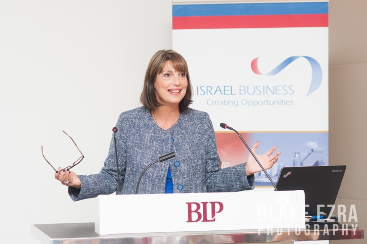 UK Israel Business event with CEO of Easyjet Carolyn McCall