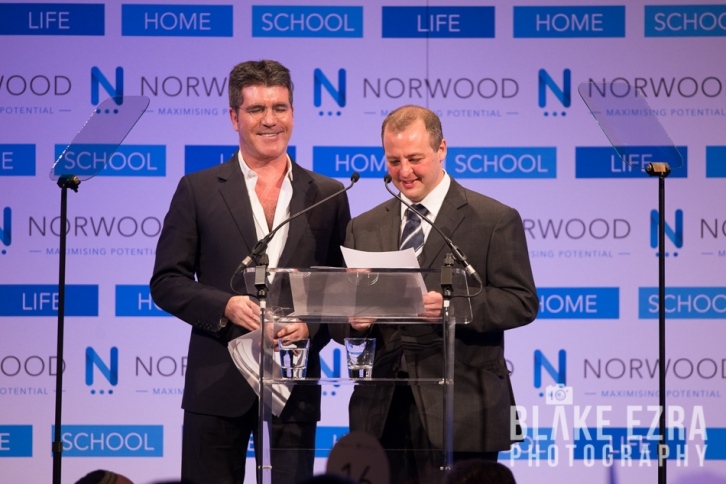 Norwood Annual Dinner held at Grosvenor House Hotel