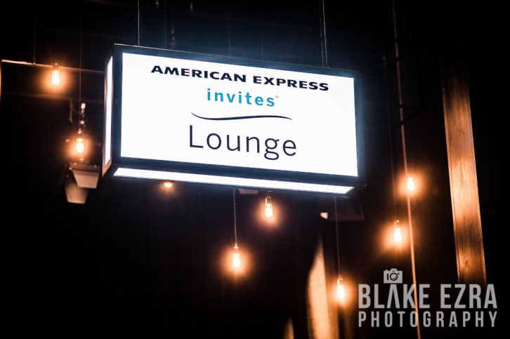 Opening of new American Express VIP Lounge at the O2 Arena.