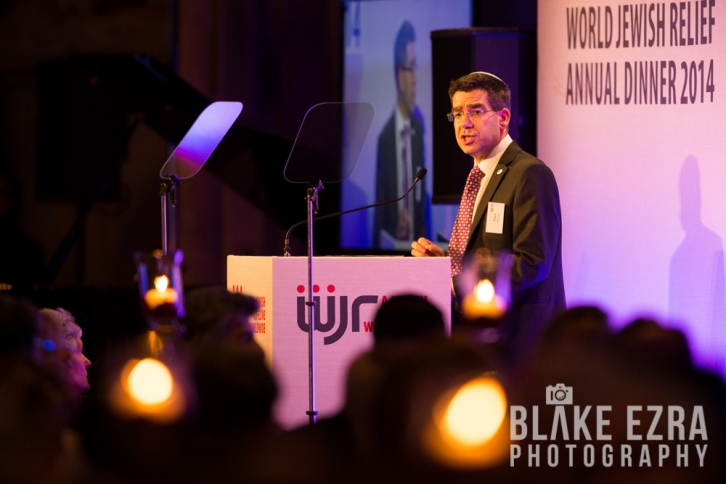 World Jewish Relief Annual Dinner 2014