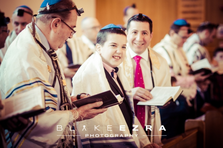 Adam's Bar Mitzvah at Mill Hill Synagogue.