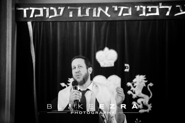 Adam's Bar Mitzvah at Mill Hill Synagogue.