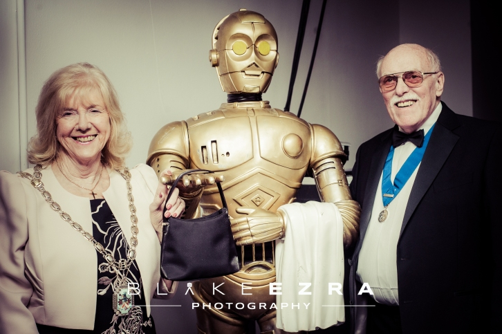 Images from Hertsmere Civic Dinner at Elstree Studios.