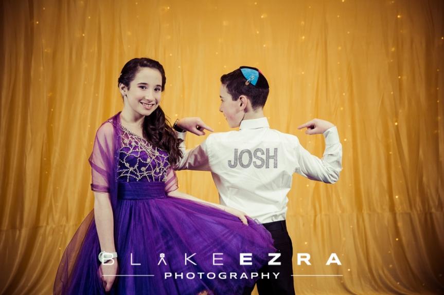 B'nai Mitzvah of Joshua and Shoshana, held at VIP Lounge in Edgware.