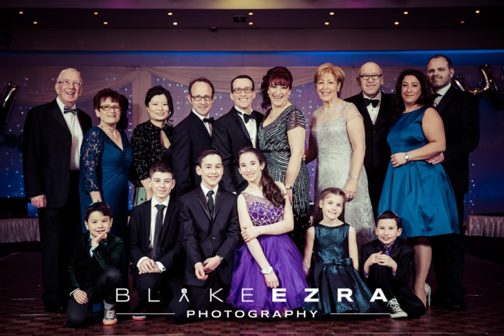 B'nai Mitzvah of Joshua and Shoshana, held at VIP Lounge in Edgware.