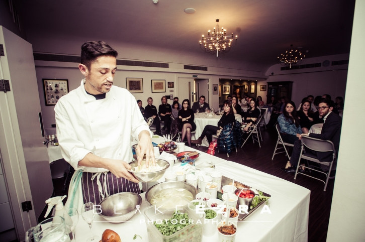 Culture in the City at Bevis Marks Synagogue presents a cooking demonstration by Eran Tibi, Executive Chef at Zest at JW3.