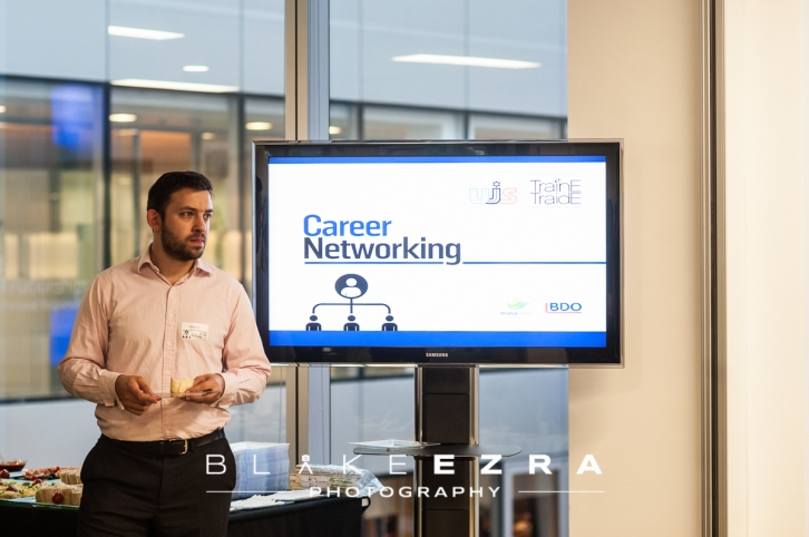 Traine Traide and UJS Career Networking Event at BDO on Baker Street, London.