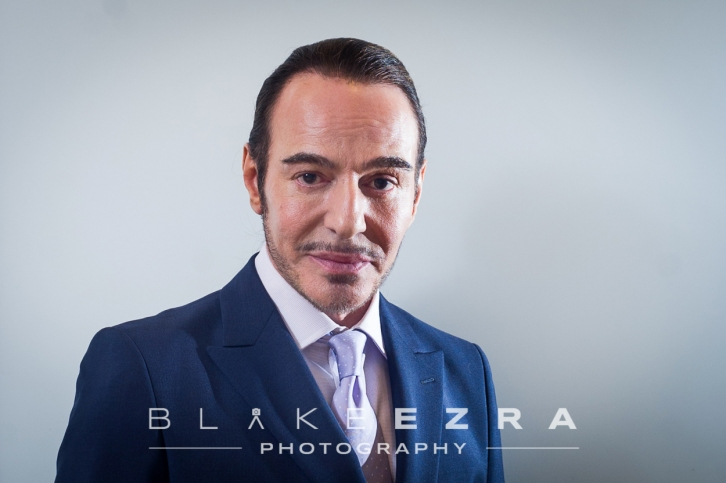 John Galliano, appearing at a Jewish community event.