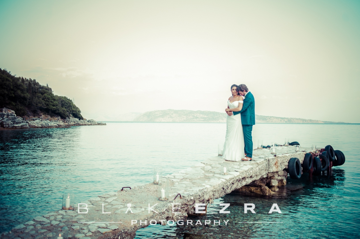 Love on the Beach: Sheera and Tom in Corfu