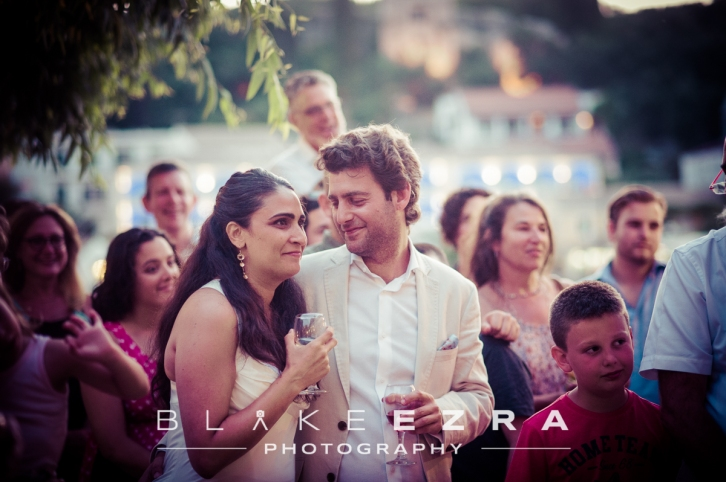 02.07.2015 Sheera and Tom pre-wedding party in Kasiopi, Corfu. (C) Blake Ezra Photography Ltd.  www.blakeezraphotography.com