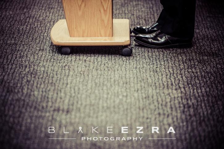 Polished shoes of Sir Bernard Hogan-Howe, Metropolitan Police Commissioner.