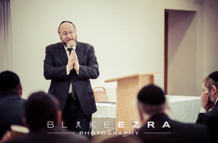 Chief Rabbi of the UK, Ephraim Mirvis.