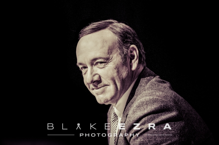 25.11.2013 © BLAKE-EZRA PHOTOGRAPHY LTD Images of Kevin Spacey in conversation with Alan Yentob, at JW3. Not for forwarding or third Party use. © Blake-Ezra Photography Ltd. 2013