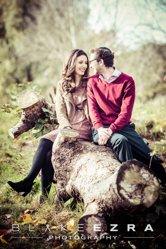 25.10.2015 Images from Ashira and Yosef Engagement Shoot on Hampstead Heath, London. (C) Blake Ezra Photography 2015. www.blakeezraphotography.com