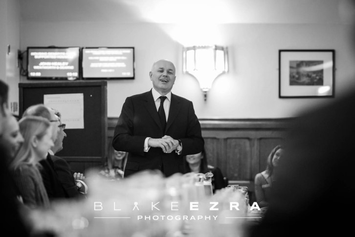 27.01.2016 Images from the Haven House Children's Hospice Lunch with Ian Duncan Smith at the Houses of Parliament. (C) Blake Ezra Photography 2016.