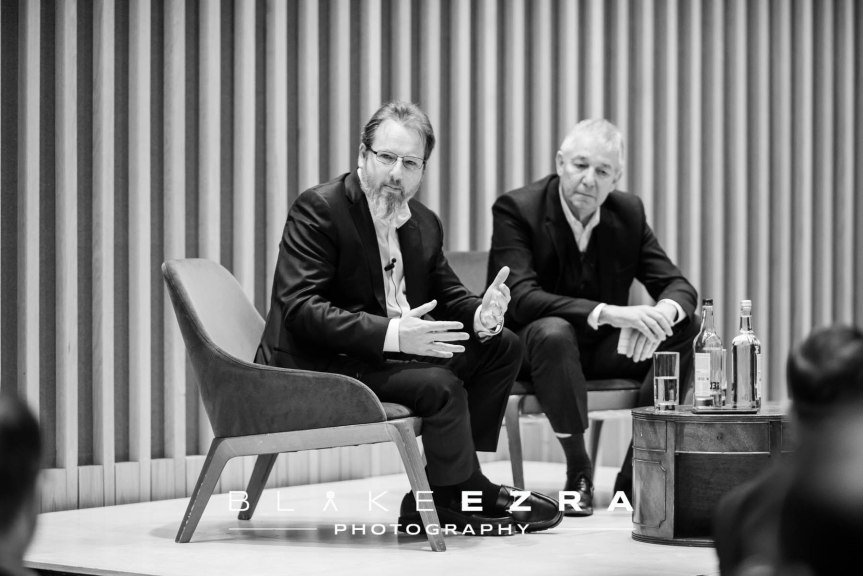 21.01.2016  Images from the JW3 Business Breakfast featuring Robin Klein in conversation with Alex Chesterman. (C) Blake Ezra Photography 2016.