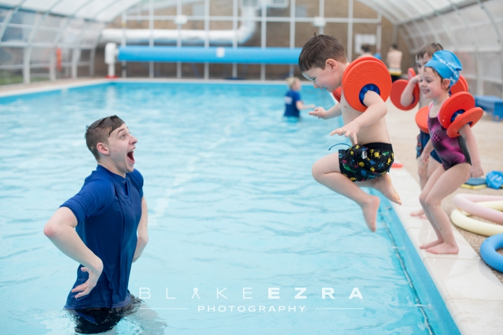 17.02.2016 Images of the Dolphins Swimming School, St. Albans. (C) Blake Ezra Photography 2016.