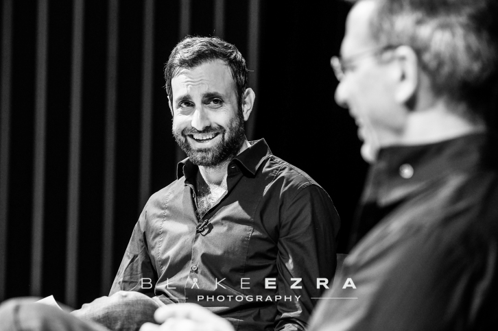 15.05.2016 Yotam Ottolenghi in conversation with Tim Samuels at JW3. (C) Blake Ezra Photography 2016
