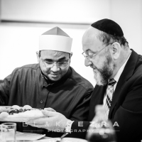 Brothers Sitting Together: Iftar with The Chief Rabbi