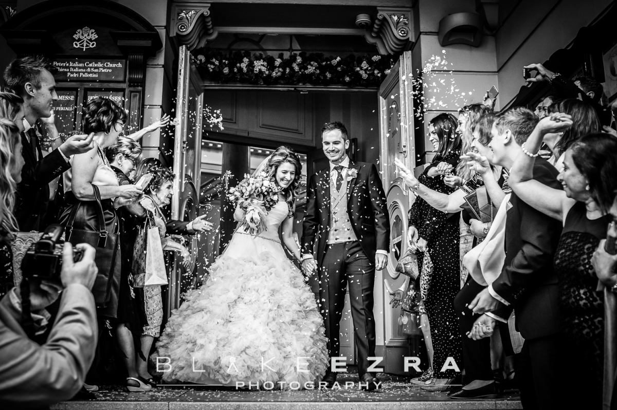 The Italian Job: Nadia and Steven's London Wedding