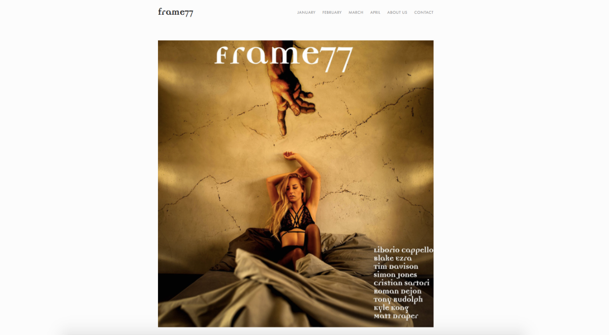 Frame77 Magazine: Featured Artist